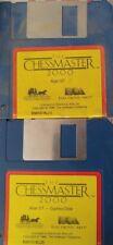 Chessmaster 2000 (electronic arts 1986) (game (2 discs) 100% OK Classic Game