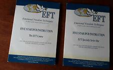 Original EFT Emotional Freedom Techniques EFT DVD's - 2 series 17 discs!
