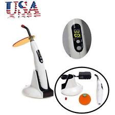 Us Dental Led Wireless Cordless Curing Light Lamp 1400mw Led B Woodpecker Style