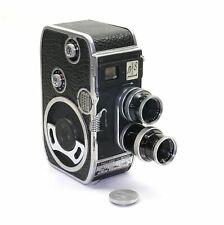 BOLEX B8 8mm Filmkamera mit Kern Yvar 2.8/36mm und Switar 1.5/12,5mm