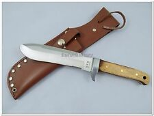 BW German Army Legendary Paratrooper Knife w/Leather Sheath - Brand New - Repro