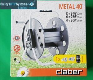Claber Metal 40 Hose Reel/with 6mm hose optional - WFP Window Cleaning Supplies