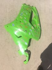 91 92 KAWASAKI ZX 7 ZX7 LEFT LOWER MID FAIRING COWL OEM 55049-5019