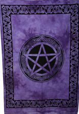 Handmade Celtic Star Wall Hanging Handmade Cotton Tapestry Poster Small Indian