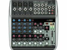 Behringer XENYX Q1202USB 12 Input Mixer with Flightcase - Grey (ZB727)