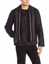 Calvin Klein Men's Wool Short Scarf Coat (NWT), XLarge