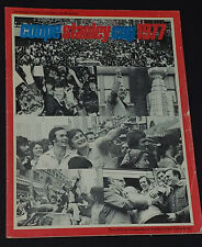 "1977 -  MONTREAL CANADIENS vs BOSTON BRUINS - NHL - STANLEY CUP ""FINAL"" PROGRAM"