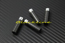 For BMW E34 E39 M5 E46 E60 E88 E90 X5 E53 E70 Carbon Fiber Door Lock Pin Knob