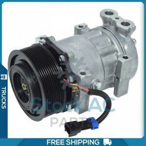New AC Compressor for Freightliner B2 2005 to 2018 - OE# SKI4804S
