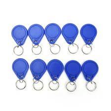 10pcs/lot 13.56Mhz Rfid Ic Key Tags Keyfobs Token Tag Keychain Kit Fu