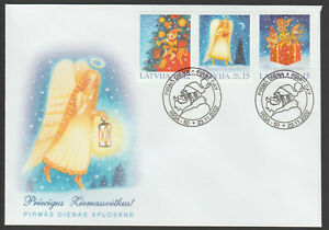Latvia 2002 Christmas FDC