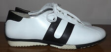 Naturalizer Walking Size 9.5 Lace Up Black White Walking Sporty Comfy Shoes