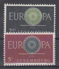 Europa CEPT neuf ** EU LUX 1960 Y&T Luxembourg 587 à 588