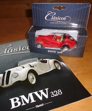 BMW 328 - ARGENTINA diecast 1:43 rare CLASICOS  car's collection