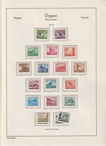 Hungary scarce 1951/53, all MNH (Y23)