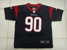 Nike On Field Jadeveon Clowney Blue Houston Texans #90 Jersey~Youth M (5-6)~EUC