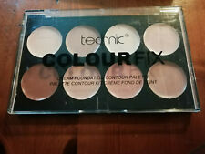 12375) Technic ColourFix cream foundation contour palette NEW  8 x 3.5g