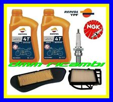 Kit Tagliando YAMAHA X-CITY 250 13>14 Filtri Aria Olio REPSOL Candela 2013 2014
