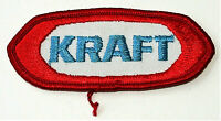 Vintage Kraft Foods Foods Dairy Cheese Logo Patch New NOS 1980s