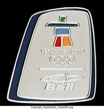 OLYMPIC PIN VANCOUVER CANADA 2010 BELL TELECOM SPONSOR