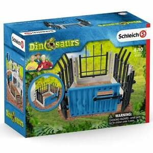Schleich Dinosaur World Large Dino Research Station Extra Fencing Set