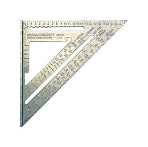 Swanson Aluminum METRIC Speed Square NA202 25cm
