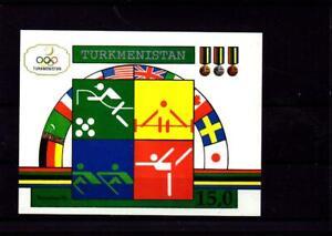 Turkmenistan - Olympiade Barcelona 1992 (postfrisch / ** / MNH) Block 2