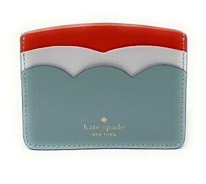 Kate Spade Gemma Smooth Leather Small Slim Card Holder WLRU00554 $69