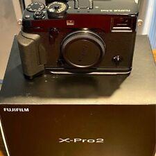 Fujifilm Fuji X-Pro2 24.3MP Mirrorless Digital Camera Body with accessories