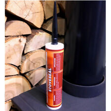 Envirograf Stove Seal Fire Proof High Temperature Sealant 1250c-2282F Black