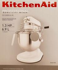 KitchenAid Teig-Knet-Küchenmaschine 5KSM7990XESM Professional 6,9L,325 W,Silber