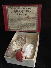 Epoque Restauration Rare Flacons Epilatoire  Objet de Charme Vers 1820-1830