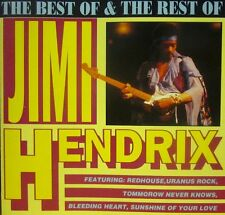 Jimi Hendrix(CD Album)The Best Of & Rest Of-Action Replay-CDAR 1022-New