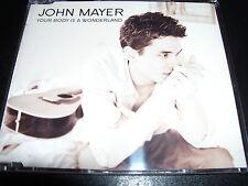 John Mayer Your Body Is A wonderland Australian 4 Track CD Single - LIke New