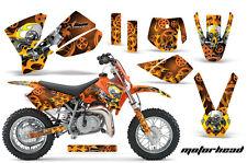 Moto Tout-Terrain Décalque Graphique Kit Autocollant Drapé pour KTM SX50 SX