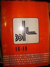 OM Fiat chariot élevateur E6 - E8 : catalogue de pièces