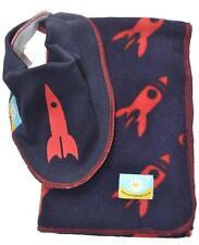 Cornish Daisy Rocket Dribble Bib and Baby Blanket Gift Set