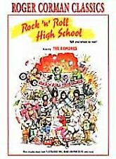 Rock 'N' Roll High School (DVD, 2001, Roger Corman's Classics) The Ramones
