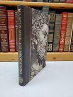 Folio Society ~ Marcus Aurelius Meditations ~ 2002 1st Printing ~ w/ Slipcase