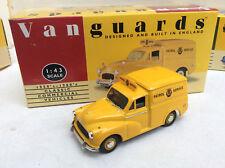 VANGUARDS 1/43  VA11000 Morris Minor Van AA Automobile Association   BOXED
