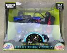 SHARPER IMAGE RC BOXING BATTLE ROBOTS REMOTE CONTROL Rockem Sockem NEW