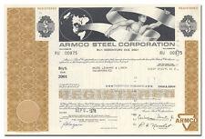 Armco Steel Corporation Bond Certificate
