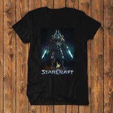 Starcraft Protoss Shirt T-Shirt Men Black Tees SC2-R01