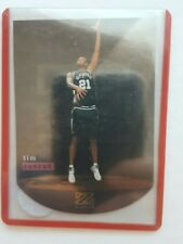 TIM DUNCAN 1997-98 SKYBOX Z FORCE ZEBUT ROOKIE CARD  #6 OF 12
