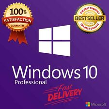 Microsoft Windows 10 Professinal ✔ ENGLISH ✔ MS® Windows ✔ 30s DELIVERY