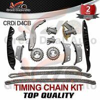 Timing Chain Kit fits HYUNDAI iLoad Starex H-1 iMax KIA SORENTO 2.5L CRDi D4CB
