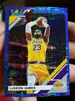 2019 20 DONRUSS LEBRON JAMES BLUE INFINITE 34/35 LAKERS RARE BLUE SSP