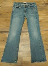 "Vintage Levis 518 Superlow Bootcut 5 Jr  30x 29"" L Women denim Jeans Acid Wash"
