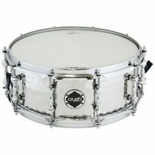 """Crush Drums 14"""" Steel Hand Hammered Snare Drum HHS14X55S"""