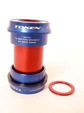 mr-ride TOKEN BB Bottom Bracket CUPSET / BB30 FRAME Sram Crank set BB30AR Blue